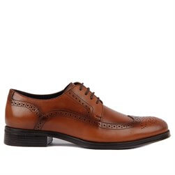 Tobacco Genuine Leather Mens Classic Shoes