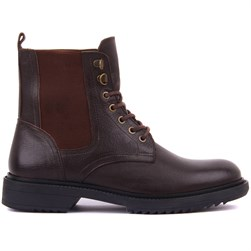 Brown Genuine Leather Mens Boots