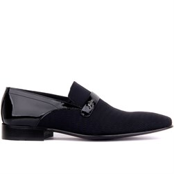 Navy Blue Mens Classic Shoes