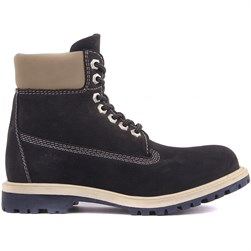 Sail Lakers - Navy Blue Nubuck Womens Boot