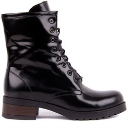 Sail Lakers - Black Tanning Genuine Leather Womens Boots
