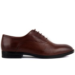 Brown Genuine Leather Mens Shoes