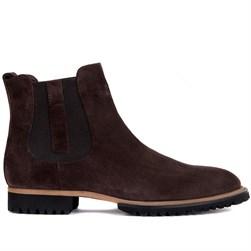 Brown Suede Mens Boots