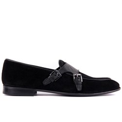 Black Suede Mens Shoes