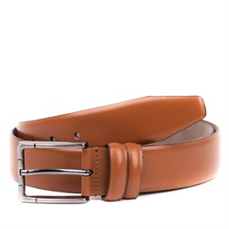 Sail Lakers - Tobacco Leather Male Belt