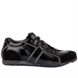 Black Genuine Leather Mens Shoes