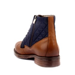 Tobacco Genuine Leather Men's Boots