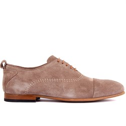 Caramel Suede Mens Shoes