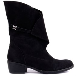 Sail Lakers - Black Nubuck Womens Boots