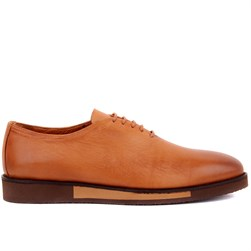 Tobacco Genuine Leather Mens Shoes