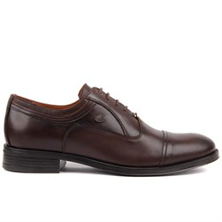Brown Genuine Leather Mens Classic Shoes