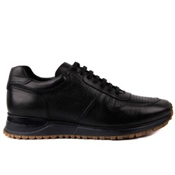 Black Leather Mens Shoes